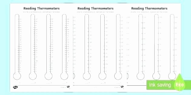 Measurement Temperature Worksheets Blank thermometer Worksheet – Peacer
