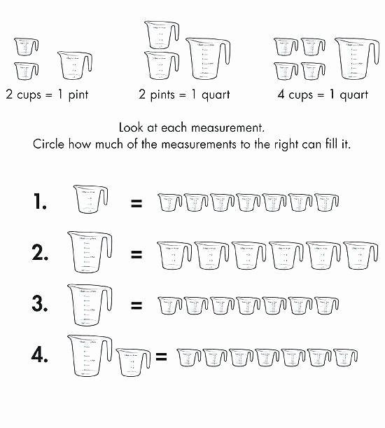Measurement Worksheet 3rd Grade Capacity Worksheets 3rd Grade