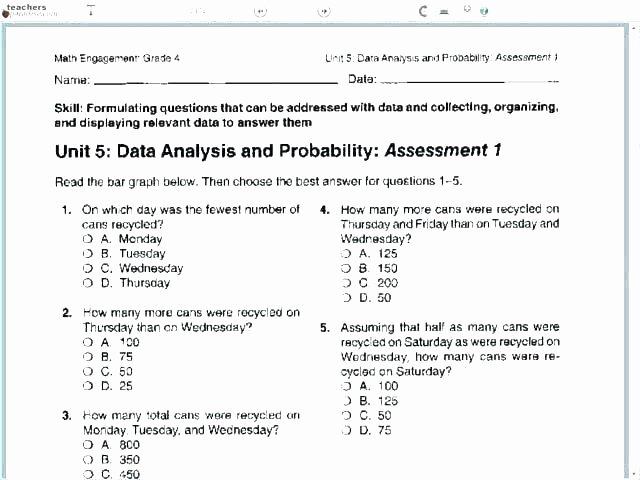 Measurement Worksheets 5th Grade Measurement and Data 5th Grade Worksheets