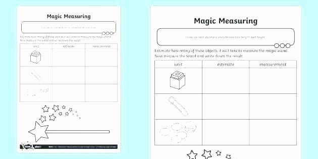 Measuring Capacity Worksheets Kindergarten Measurement Worksheets Printable Measuring Mass