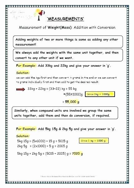 Measuring Capacity Worksheets Measuring Worksheets