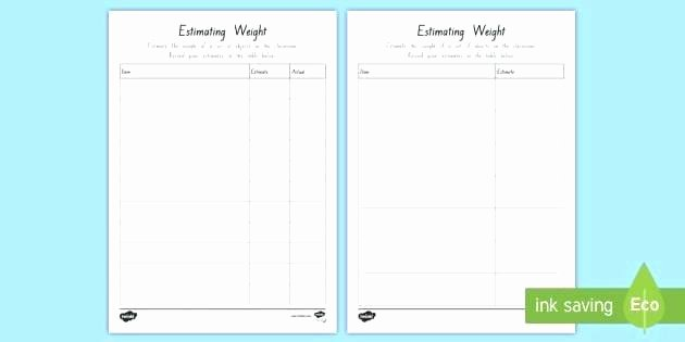 Measuring Capacity Worksheets Weight Worksheets