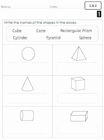 Measuring In Inches Worksheets Geometry and Measurement Worksheets