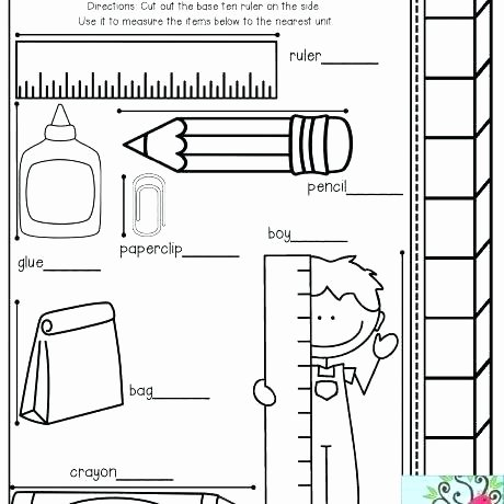 Measuring In Inches Worksheets Measuring Pumpkins Math Activity Free Printable Worksheets
