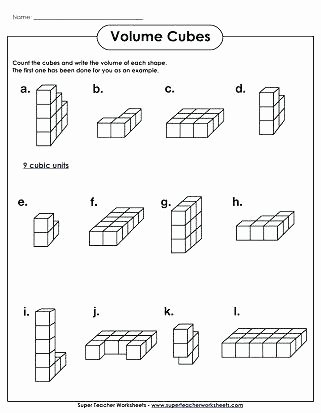 Measuring Liquid Volume Worksheet Answers Beautiful Grade Math Volume Worksheets Cubes Worksheet Easy Wedding