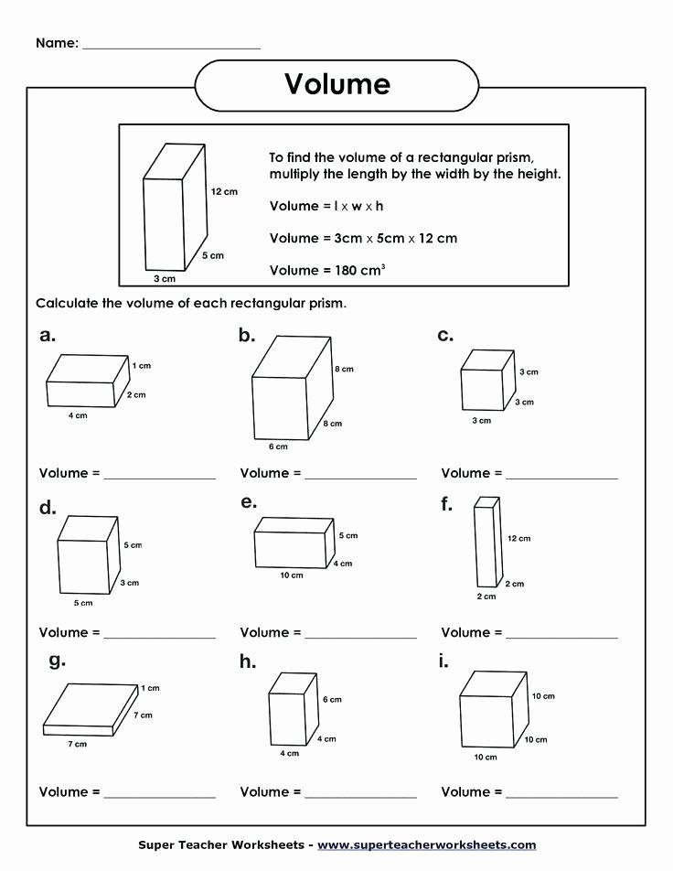 Measuring Liquid Volume Worksheet Answers Inspirational Volume Cube Worksheet Worksheets for Grade 4 Pdf
