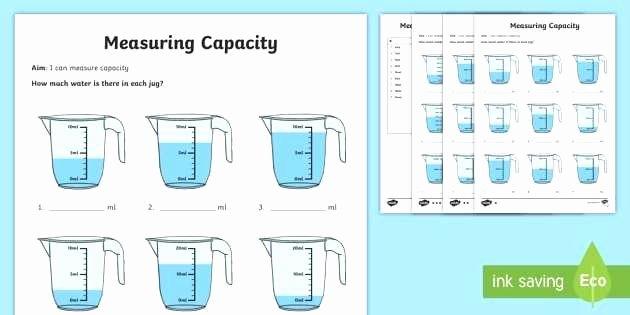 Measuring Liquid Volume Worksheets Beautiful Measurement Weight Worksheets Printable for 4th Grade Mass