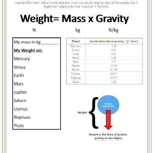 Measuring Liquid Volume Worksheets Fresh Mass and Weight Science Metric Measurement Worksheets Middle