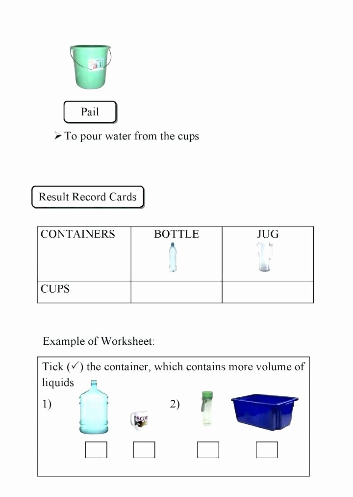 Measuring Liquid Volume Worksheets Lovely 4th Grade Math Measurement Worksheets