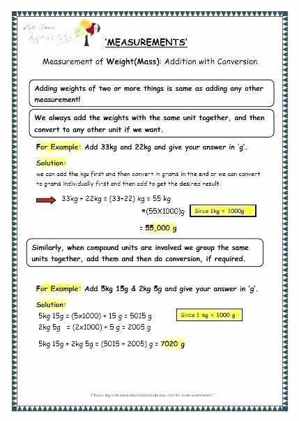 Measuring Worksheet 2nd Grade Mass and Weight Worksheet Measurement Worksheets Grade 2