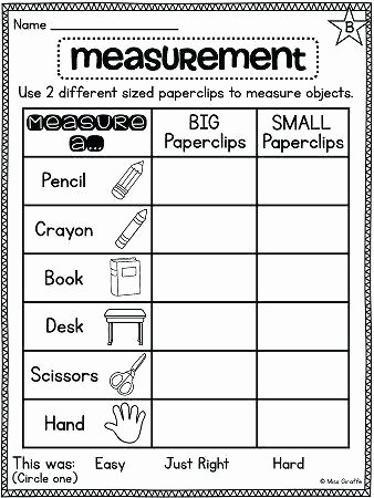Measuring Worksheets for 2nd Grade Subtraction Worksheets Grade Activities Measurement Free