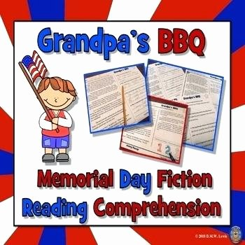 Memorial Day Reading Comprehension Free Grade Reading Prehension Worksheets Memorial Day