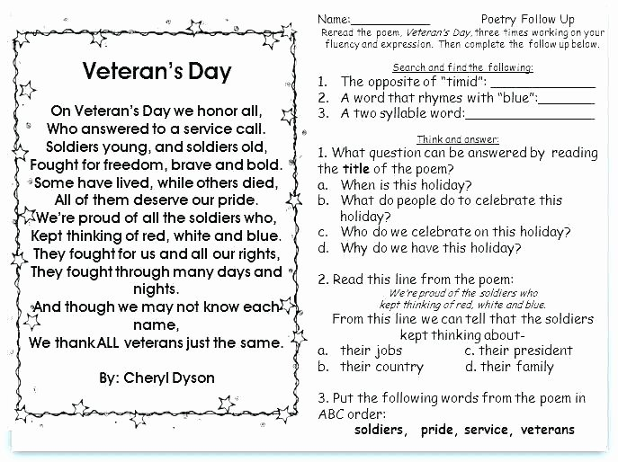 Memorial Day Reading Comprehension Worksheets Memorial Day Math Worksheets