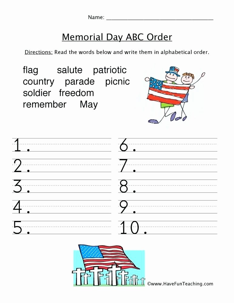 Memorial Day Reading Comprehension Worksheets Memorial Day Worksheets Reading Prehension Memorial Day