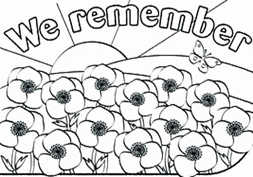 Memorial Day Worksheets for Kids Remembrance Day Coloring Pages – Golfpachuca