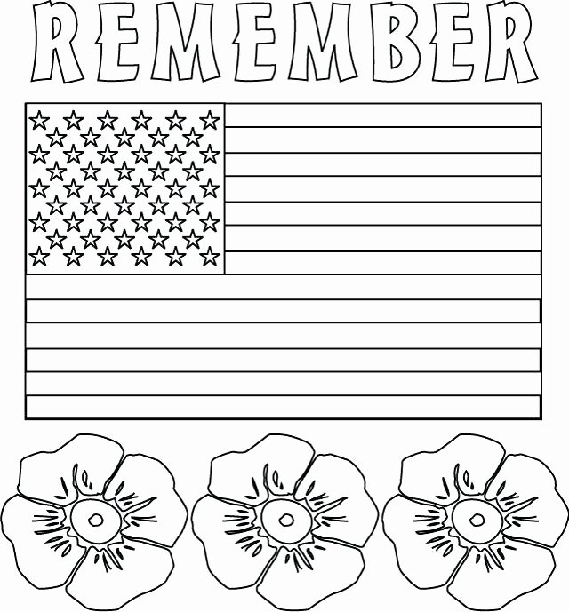 Memorial Day Worksheets Free Flag Coloring Pages Free – thecandlelady