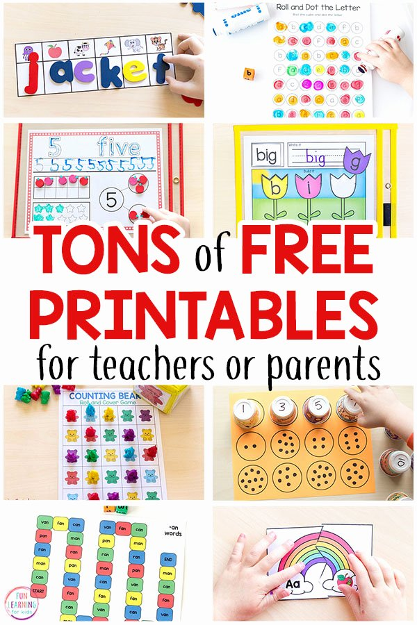 Memory Exercises for Adults Printable Free Printable Activities for Kids