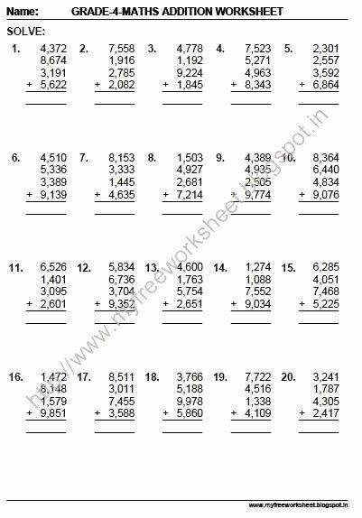 Mental Math Multiplication Worksheets Grade Mental Math Worksheets Free Collection Addition Pdf