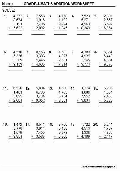 Mental Math Worksheets Grade 6 5th Grade Math Skills Worksheets