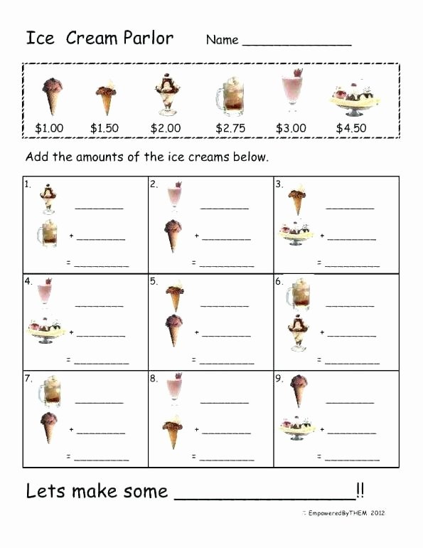 Menu Math Printable Extra Math Worksheets Extra Math Worksheets 5th Grade