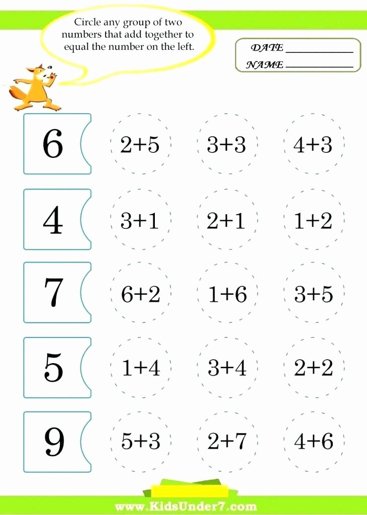 Menu Math Printable Menu Math Worksheets