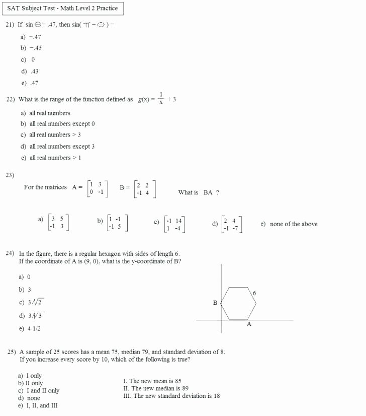 Menu Math Worksheets Printable 10th Grade Math Worksheets Grade Ma Quiz Grade Ma Worksheets