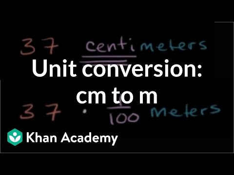 Metric and Customary Conversions Worksheets Converting Centimeters to Meters Cm to M