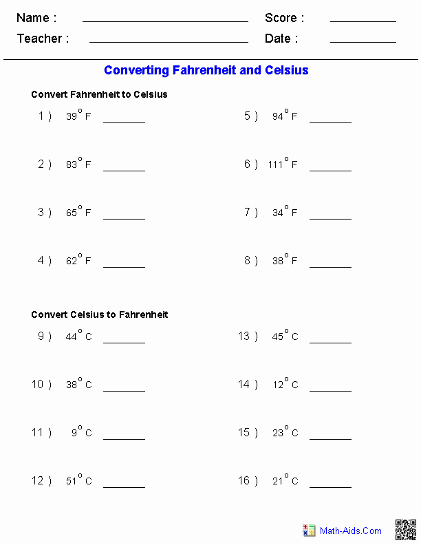 Metric Conversion Worksheets 5th Grade Pin On Math Aids