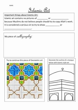 Middle School Art Worksheets Lovely Students Artwork Worksheets Google Search