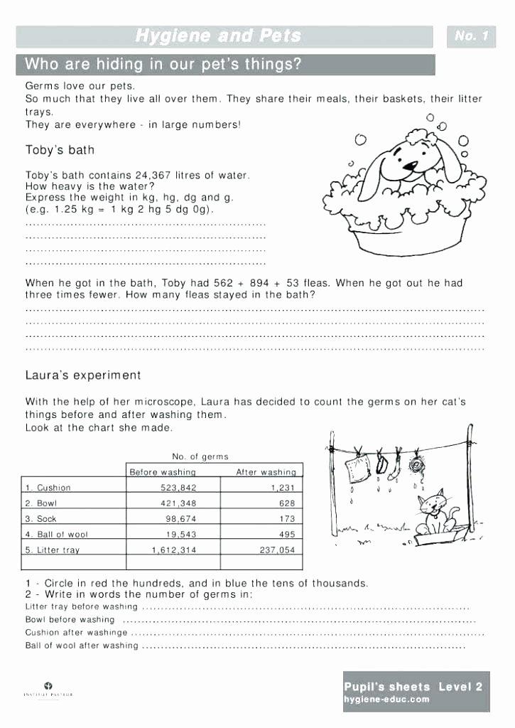 Middle School Health Worksheets Middle School Health Worksheets