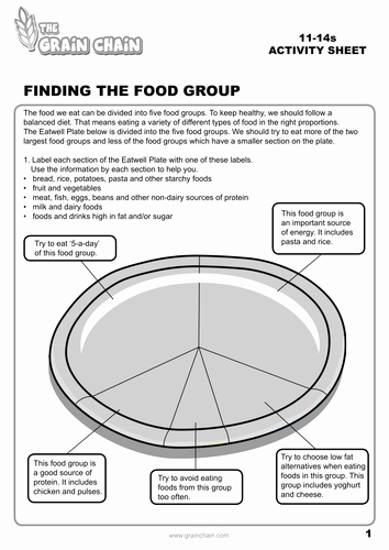Middle School Health Worksheets Pdf Middle School Health Worksheets Pdf Awesome Eatwell Plate