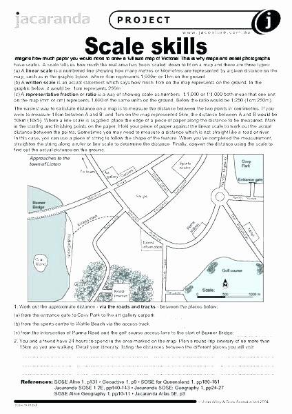Middle School Map Skills Worksheets Printable Map Skills Worksheets for Kindergarten Printable