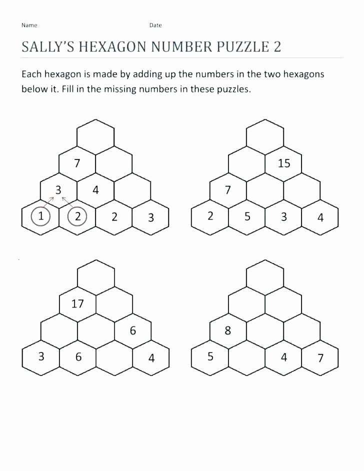 Middle School Math Puzzles Printable Algebra Puzzles Worksheets Math 2 Puzzle High School Middle