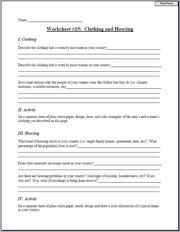 Middle School Resume Worksheet Middle School Resume Worksheet Fresh Expensive Resume