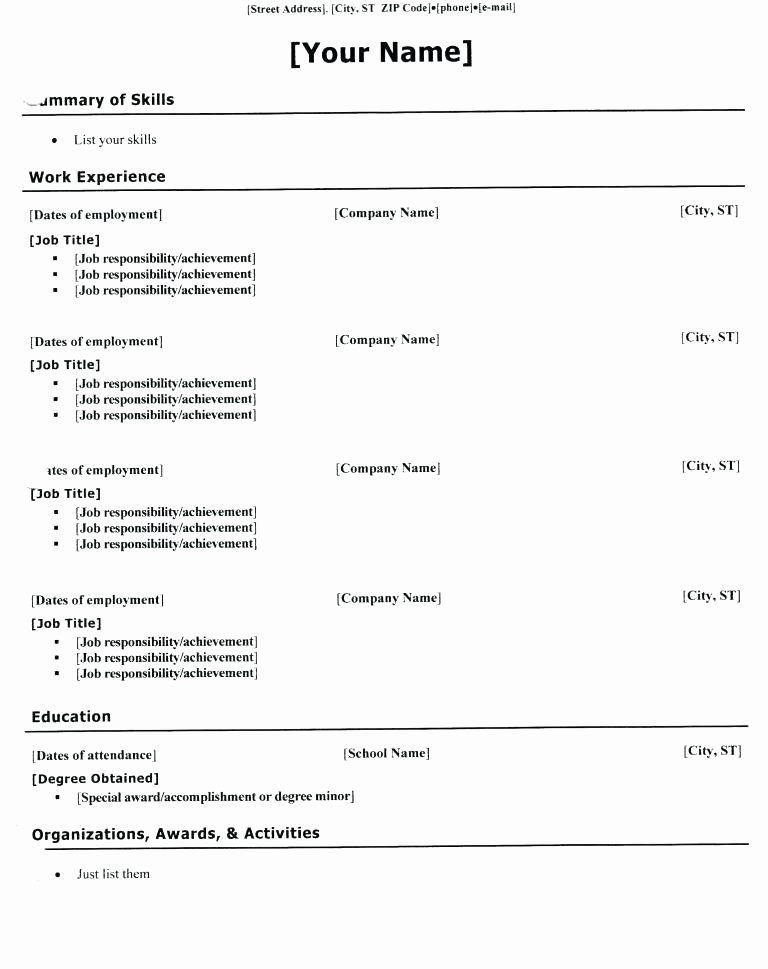 resume worksheet for high hool students elegant my first responsibility lesson plans school building activities