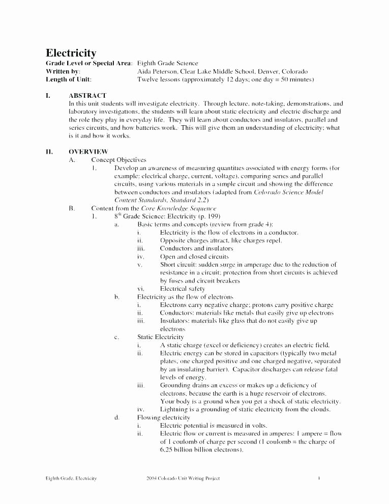 Middle School Science Worksheets Pdf Grade Science Worksheets Earth Physical Pdf Holt