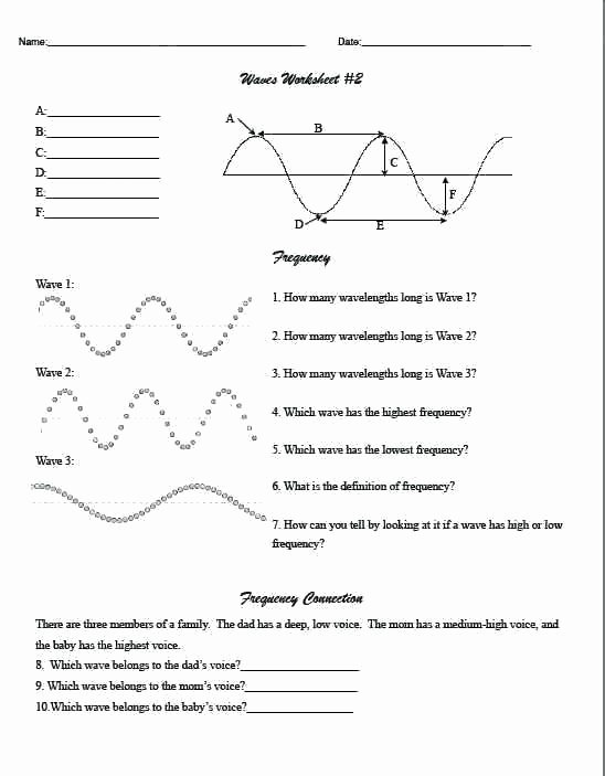 Middle School Science Worksheets Pdf High School Science Worksheets