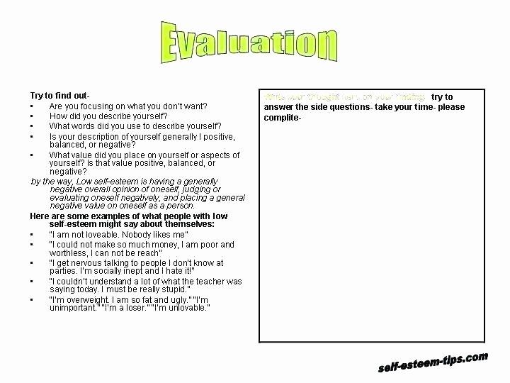 Middle sound Worksheet Improving Self Esteem Worksheets Own Confidence Middle