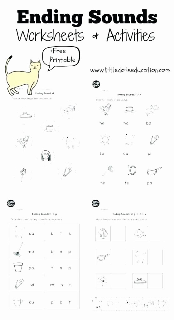 Middle sound Worksheet Letter B sound Worksheets