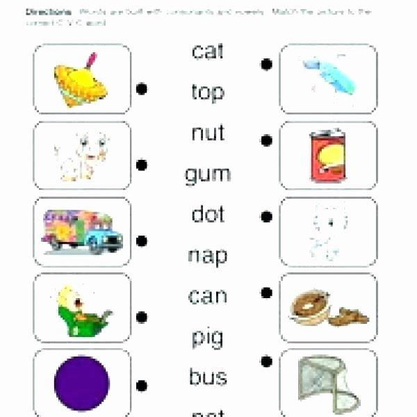 Middle sound Worksheets Medial sounds Worksheets