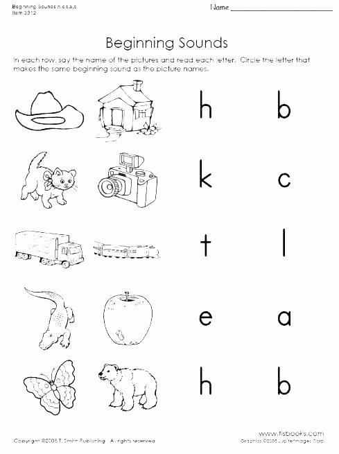 Middle sound Worksheets Middle sounds Worksheet Math Free Cvc Worksheets for