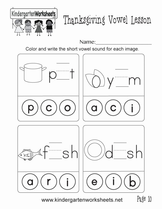 Middle sounds Worksheets for Kindergarten Color Puzzle Math Fun Sheets Kindergarten Puzzles Worksheets