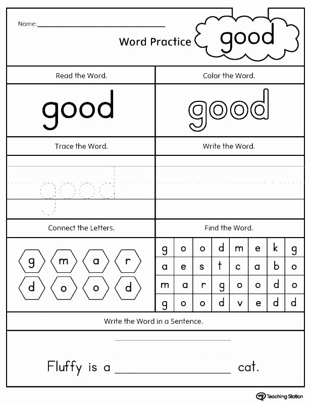 Middle sounds Worksheets for Kindergarten Cvc Activities for Second Grade