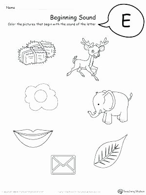 Middle sounds Worksheets for Kindergarten K and G sound Worksheets Animal sounds for Preschool Long A