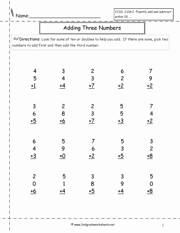 Missing Addend Worksheets 1st Grade Free Missing Addend Worksheets