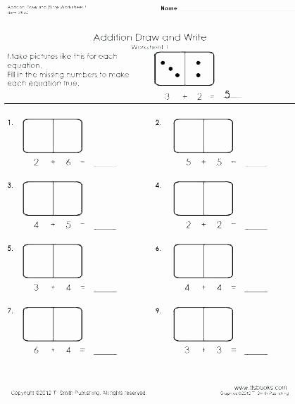 Missing Addends Worksheets 1st Grade Missing Addend Worksheets Second Grade Free Math Addends for