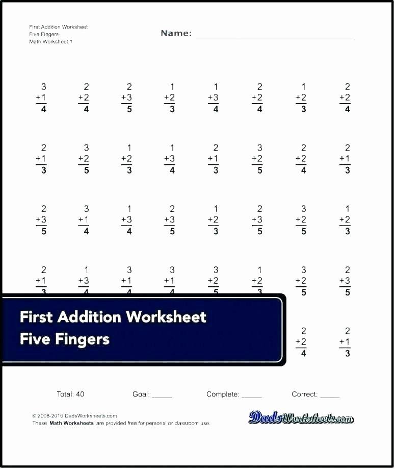 Missing Addends Worksheets 1st Grade Missing Addends Worksheets Free Math Addend for First Grade