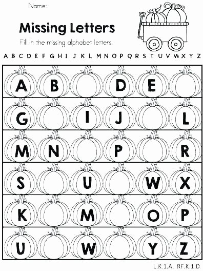 Missing Alphabet Letters Worksheet Alphabet Worksheets for Adults
