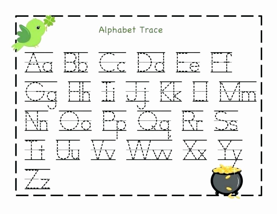 Missing Alphabet Worksheets Alphabet Worksheets for Preschoolers Printable