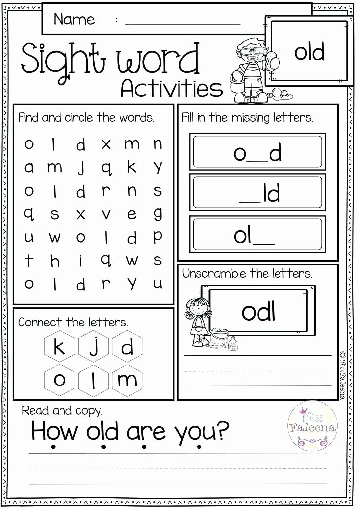 Missing Alphabet Worksheets Kg Worksheets Kindergarten 2 Maths Free Printable Math for